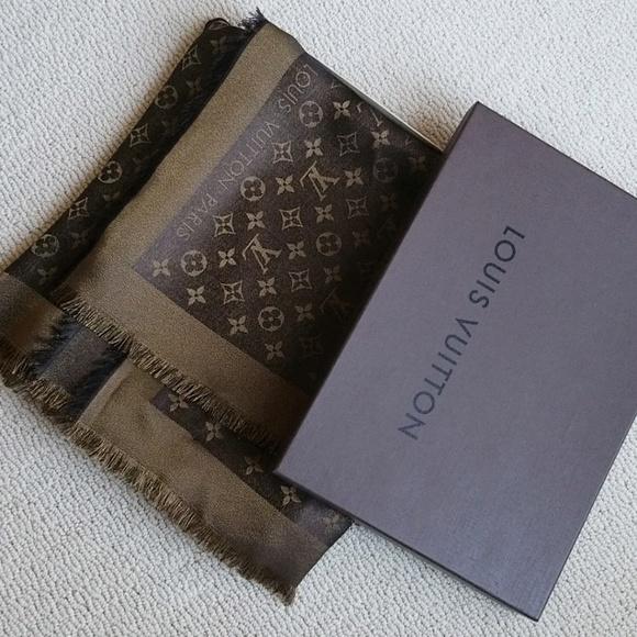 d9a0b8122b0e9 M 5ce7010c971d0aad2432ba2c. Other Accessories you may like. Louis Vuitton  Silk Bandeau Scarf ...